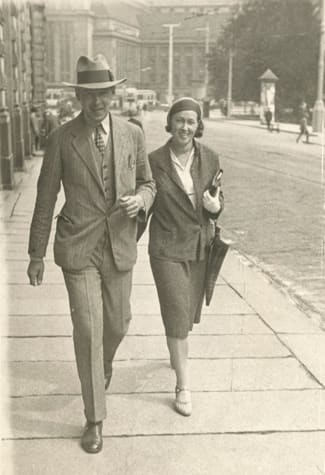 1930 - Heikki and Anna Herlin