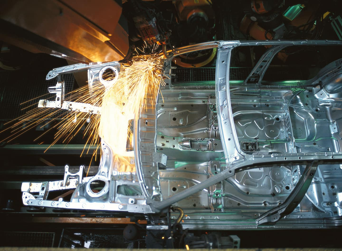 Shifting gears with digitalization, Car frame